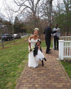 With my niece on my wedding day! I love thishellip