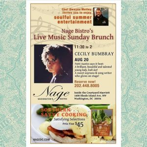 Join me tomorrow at nagedc for their Soul Brunch! hellip