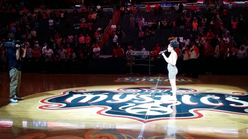 National Anthem (Washington Mystics Game)